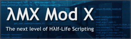 AmxmodX v1.8.2 - for 2013 HLDS Update